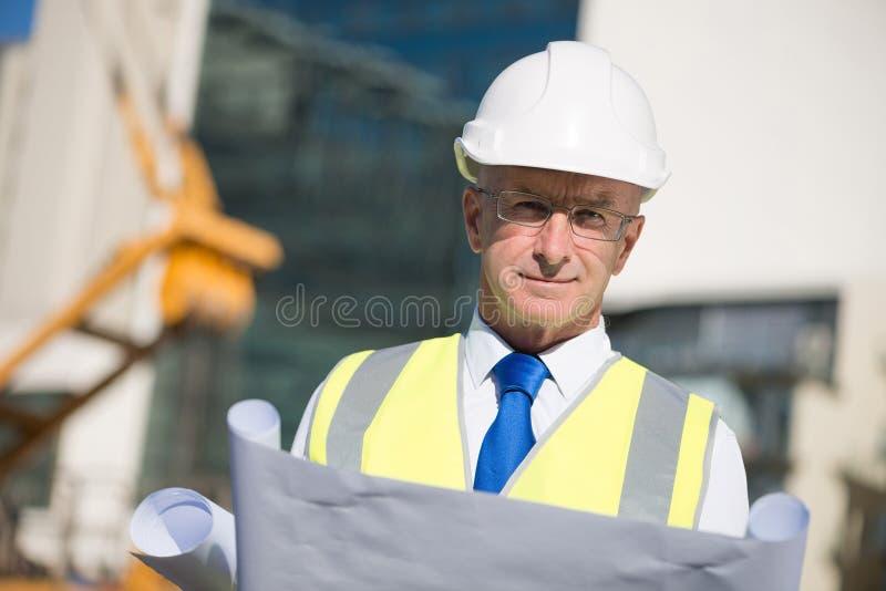 Starszy inżynier zdjęcia stock