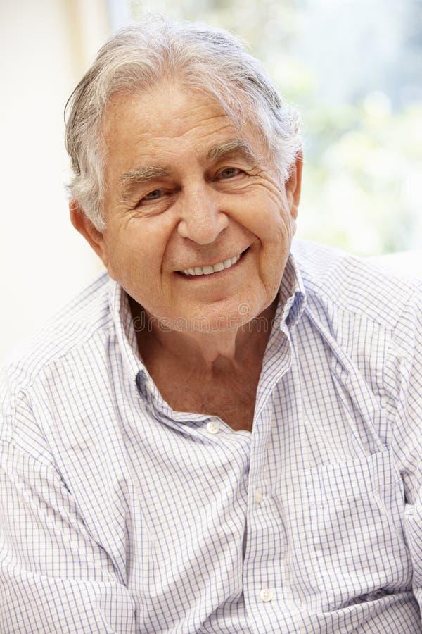 Starszy Latynoski mężczyzna portret, obraz stock
