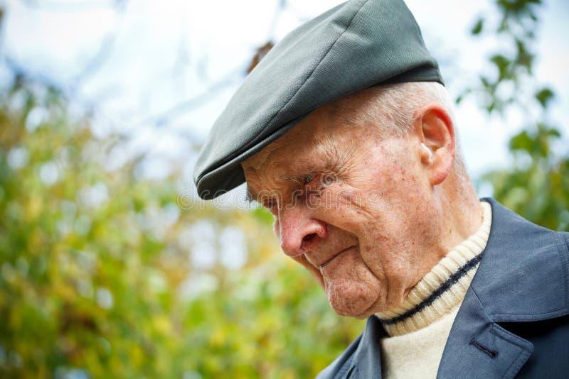 Starszy mężczyzna obrazy royalty free
