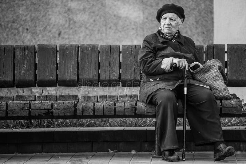 Starszy Obywatel obrazy stock