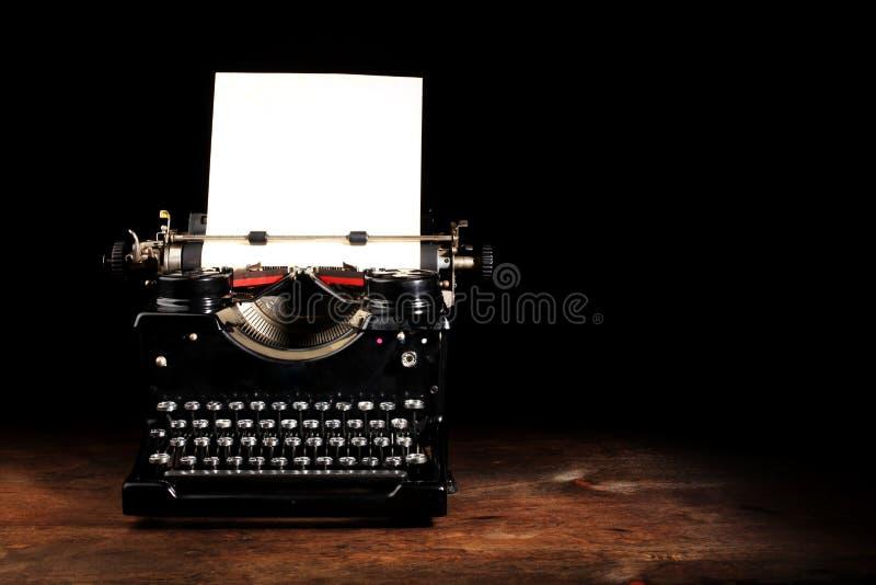 starszy rocznik maszyny do pisania zdjęcia royalty free