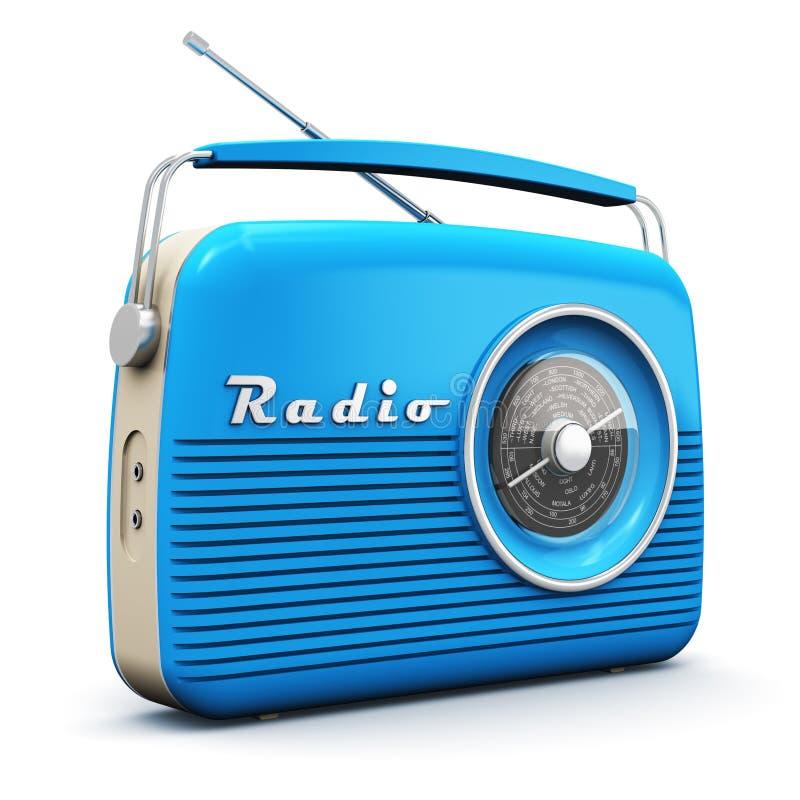 starszy rocznik radiowego ilustracja wektor