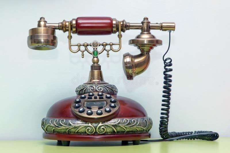 starszy rocznik telefonu zdjęcie royalty free