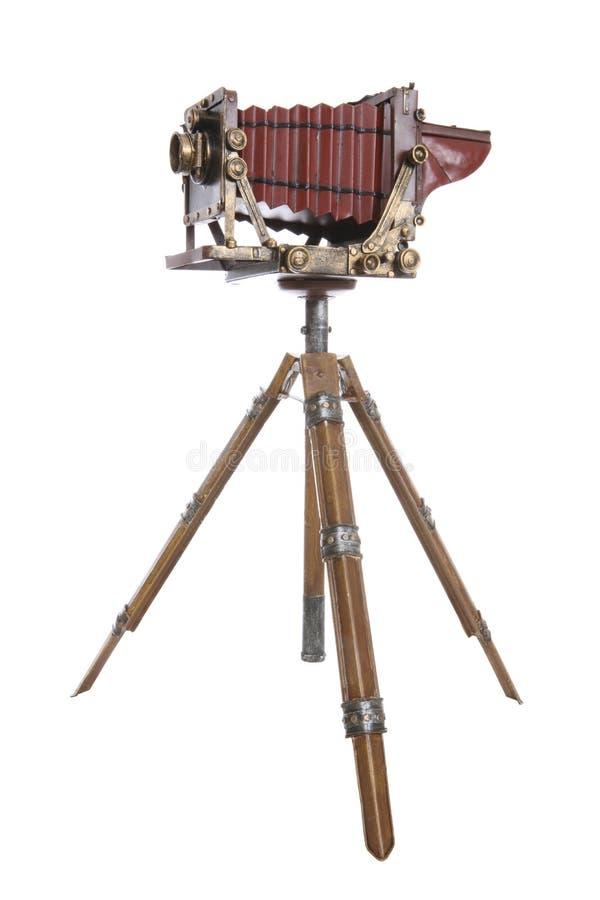 starszy rocznik zawodowego kamera fotografia royalty free