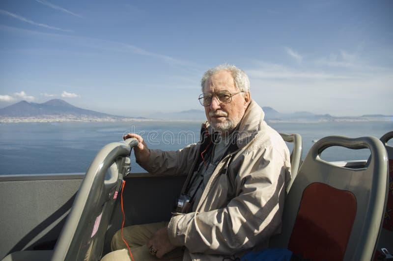 starszy turysta zdjęcie stock