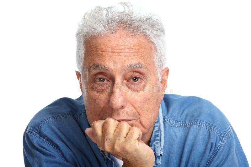 starszych osob mężczyzna portret obraz stock