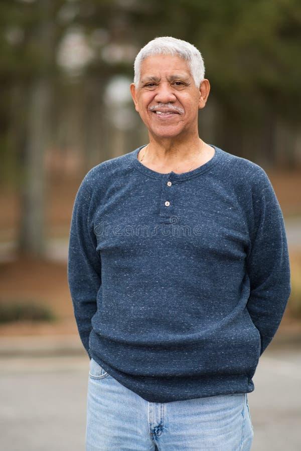 starszych osob mężczyzna senior obraz royalty free