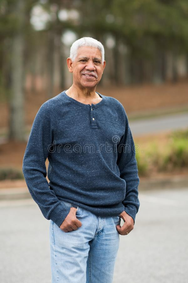 starszych osob mężczyzna senior obrazy stock