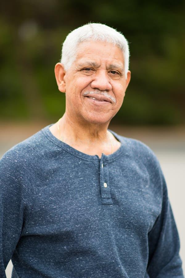 starszych osob mężczyzna senior fotografia stock