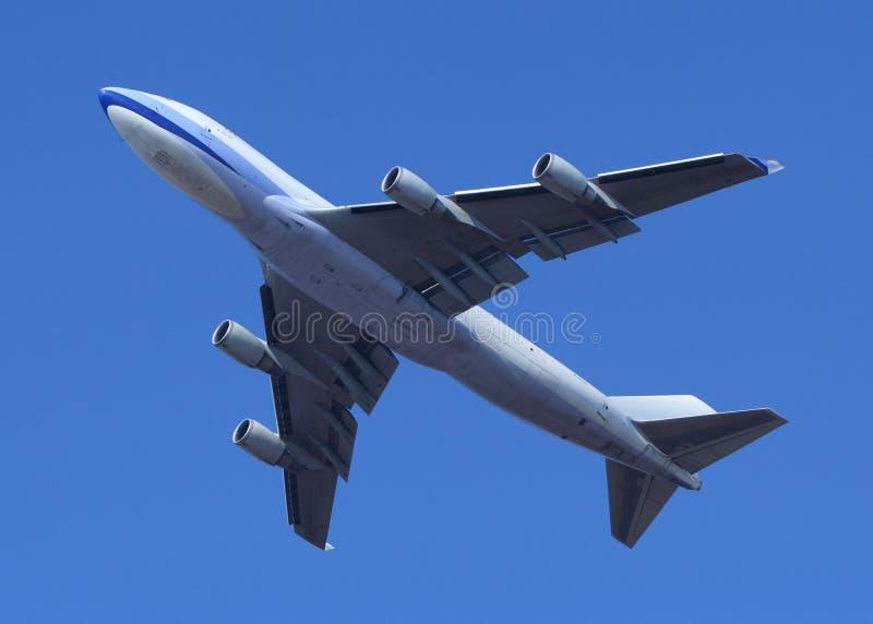 start 747 arkivfoto