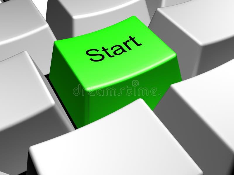 Start stock illustration