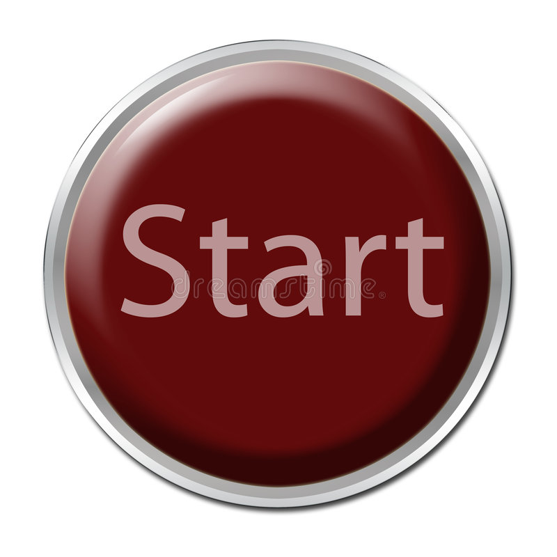 Download Start Button stock illustration. Image of button, control - 2782248