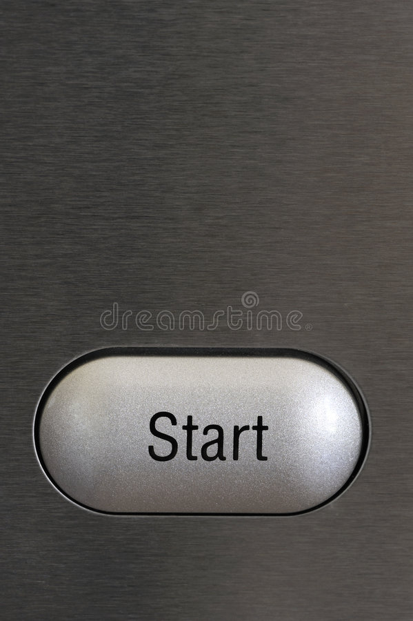 Download Start button stock image. Image of activate, switch, starter - 6474889
