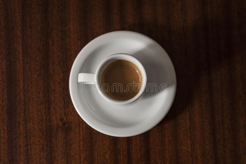 Delicious coffee to start the day with more joy royalty free stock image
