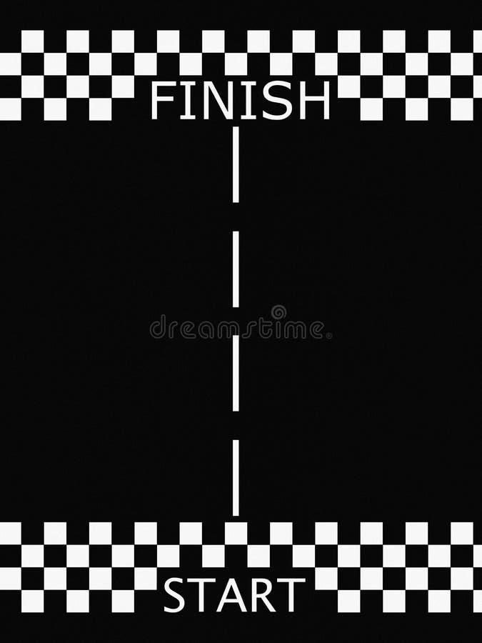Download Start finish race stock illustration. Image of highway - 14401092
