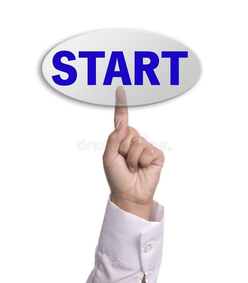 Start key stock photo