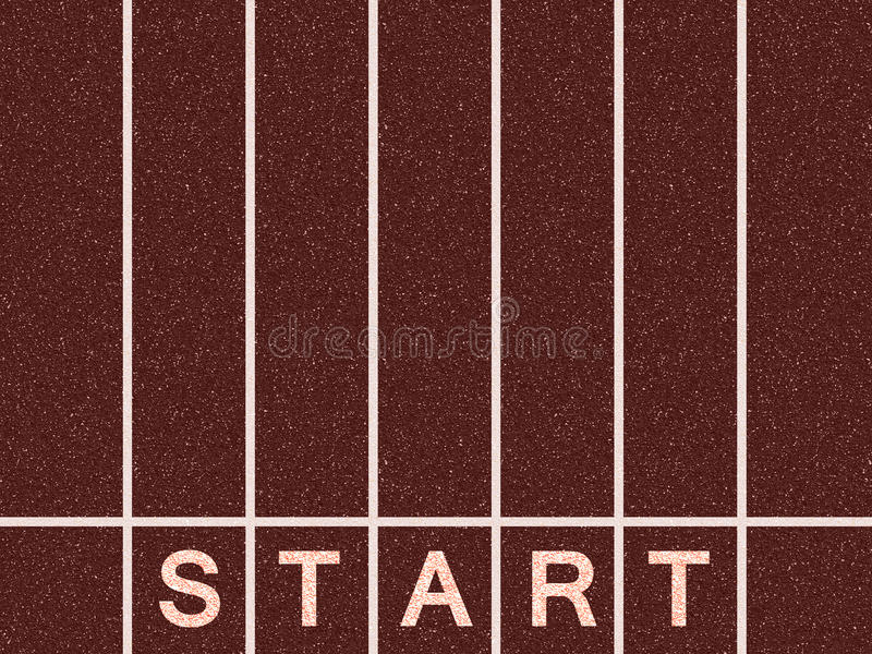 Start Line Royalty Free Stock Image
