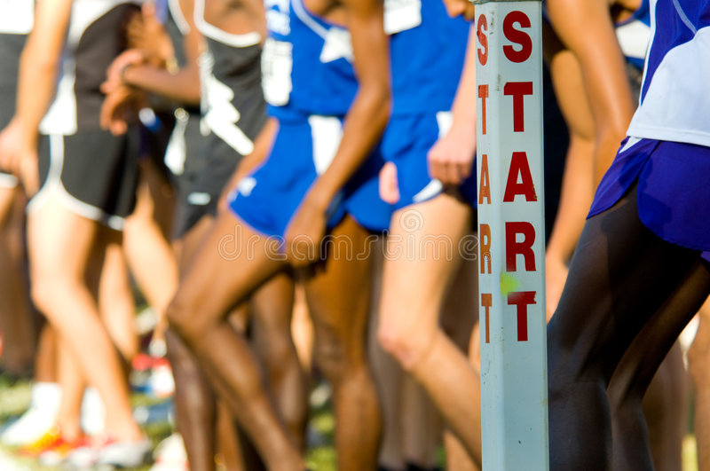Download The Start Line stock photo. Image of line, race, athletes - 3499788