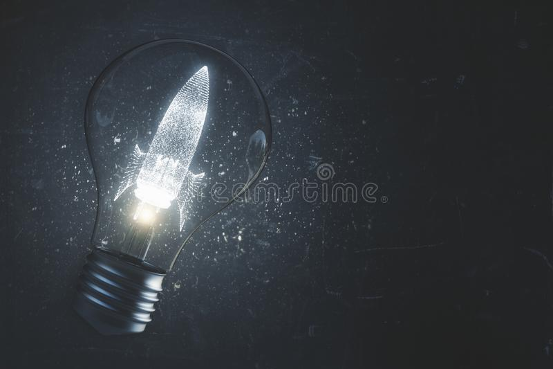Start och egenföretagandebakgrund arkivfoto