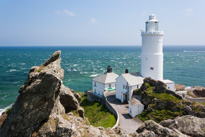 Start Point Lighthouse stock photo