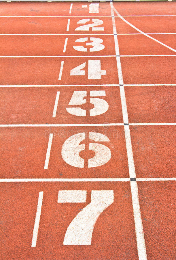 Download Start running track stock image. Image of race, color - 33476035