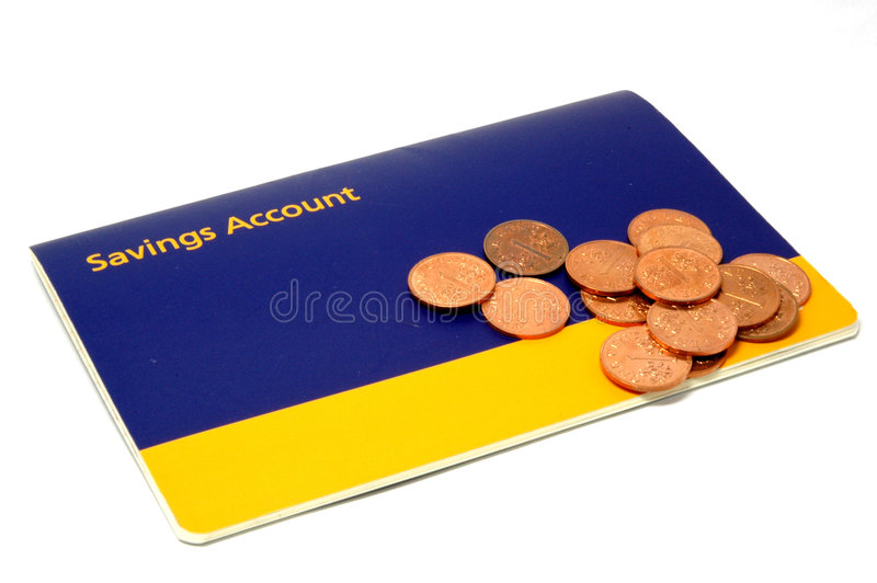 Start Saving!. Start saving for the future stock photo