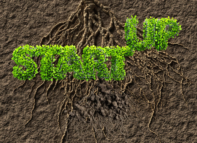 Download Start up business stock illustration. Image of tree, green - 83714497