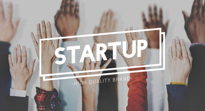 Start Up Business Enterprise Launch Opportunity Concept royalty free stock photography