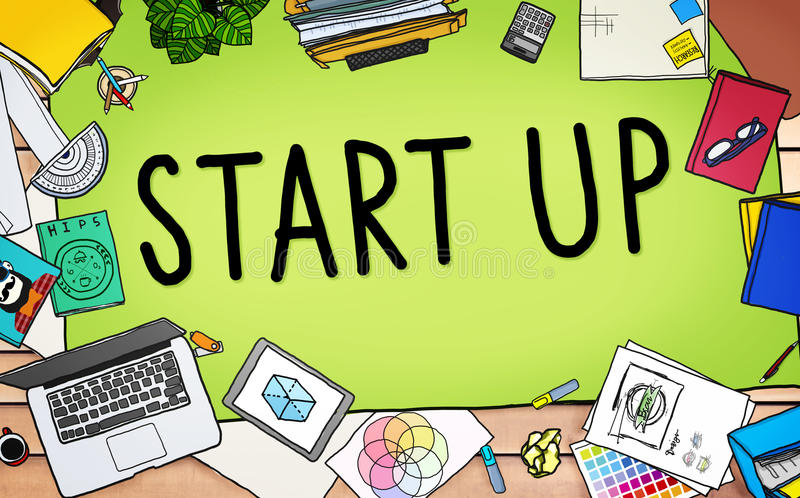 Start up Business Opportunity Development Success Concept stock illustration