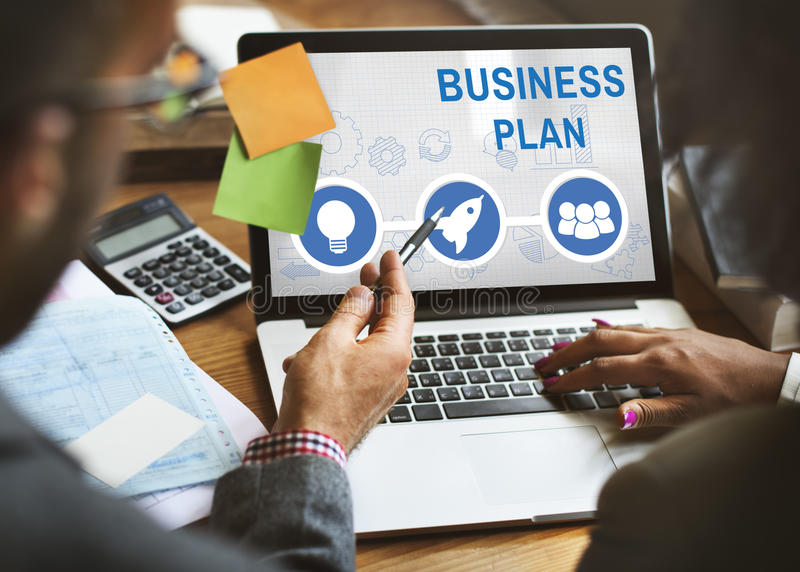 Start Up Business Rocket Ship Graphic Concept royalty free stock images