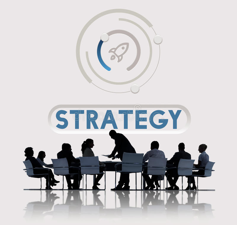Start Up Business Rocket Ship Graphic Concept stock photography