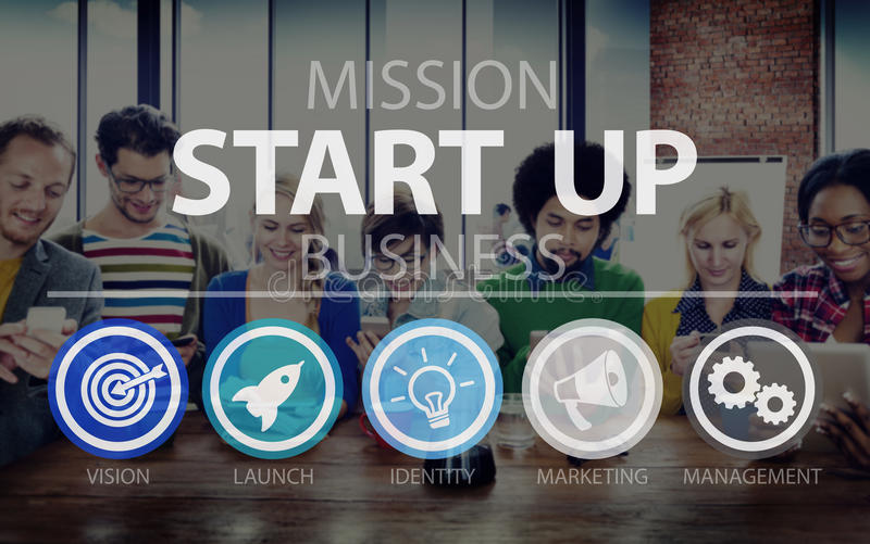 Start Up Opportunity Growth Success Chance Begin Concept royalty free stock photos