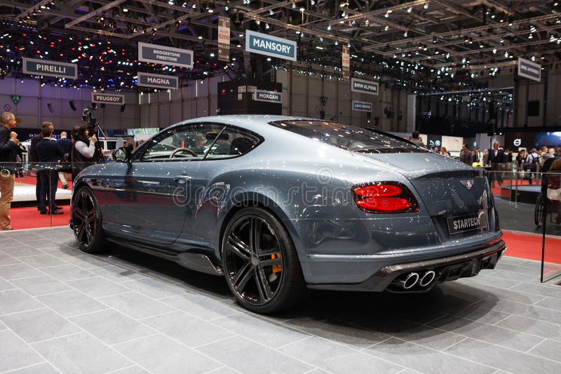 Startech Bentley Continental GT stock afbeelding