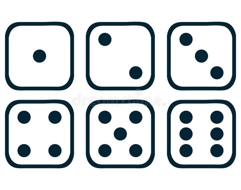 dice face with 5 pips forex