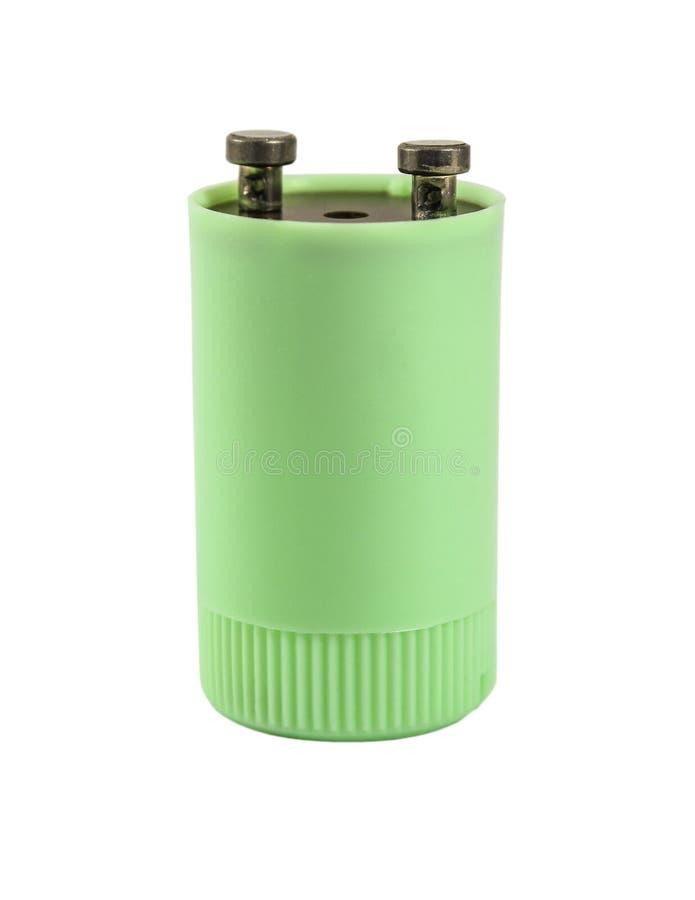Starter dla fluorescencyjnych lamp obrazy stock