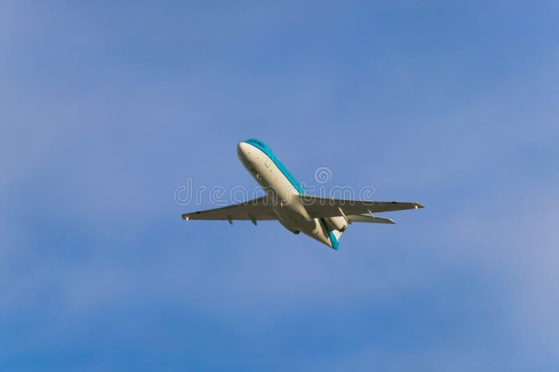 Starting airplane
