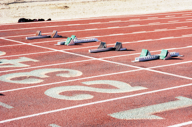 Download Starting Blocks stock image. Image of sprint, position - 642621