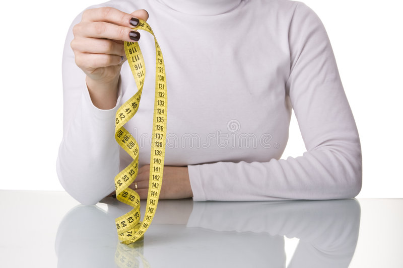 Download Starting a diet stock image. Image of isolated, body, exercise - 5326405