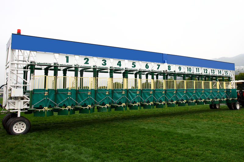 Download STARTING GATE stock image. Image of asia, race, head - 23172775