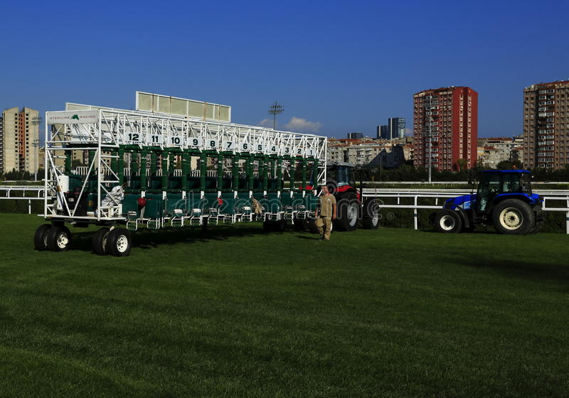Download Starting gate editorial image. Image of outdoor, derby - 34306680
