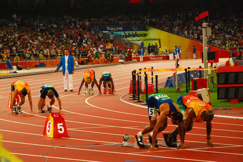 Download At the starting line editorial stock image. Image of starting - 6420509