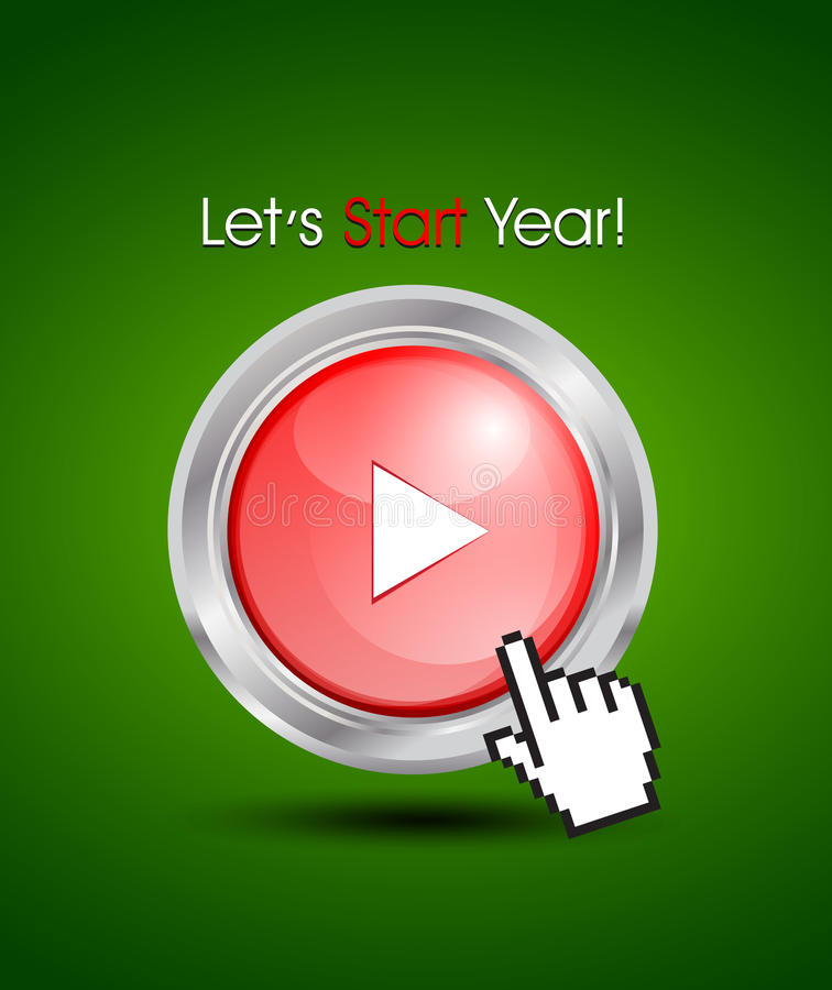 Download Starting A New Year Concept Stock Vector - Image: 27172953