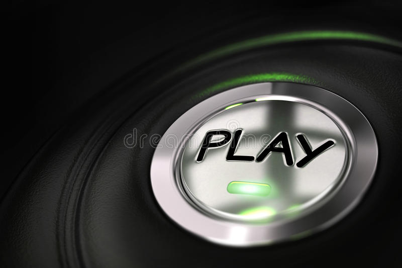 Download Starting to play stock illustration. Illustration of playing - 27710530