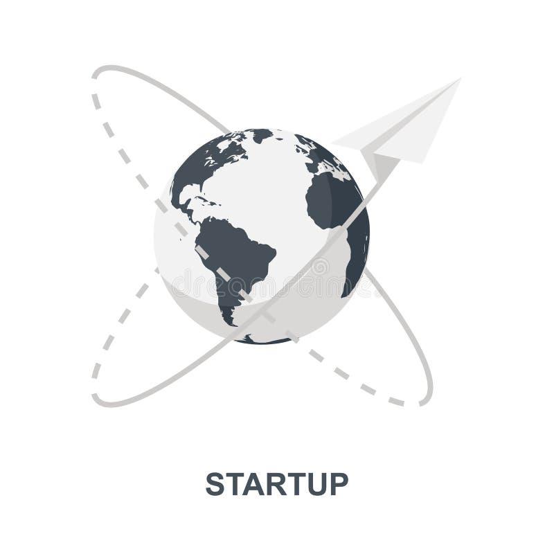 Startpictogramconcept vector illustratie