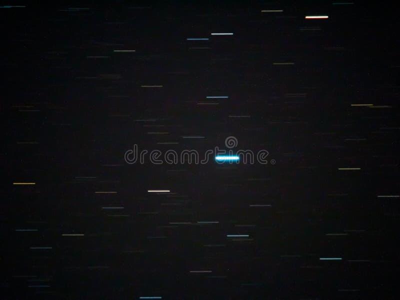 Startrails στον ουρανό στοκ φωτογραφία με δικαίωμα ελεύθερης χρήσης
