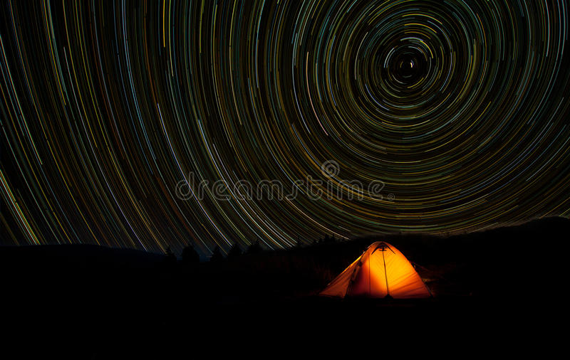 StarTrails photo stock