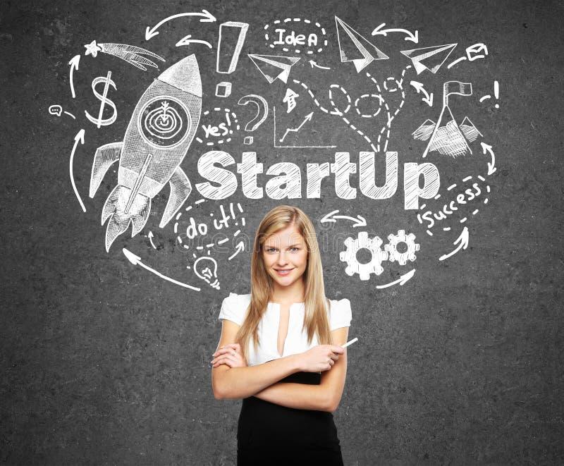 Startup концепция стоковое изображение