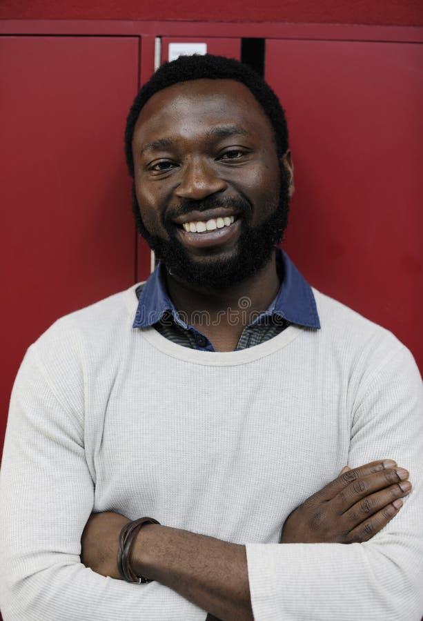 Startup стороны улыбки бизнесмены портрета выражения стоковое фото