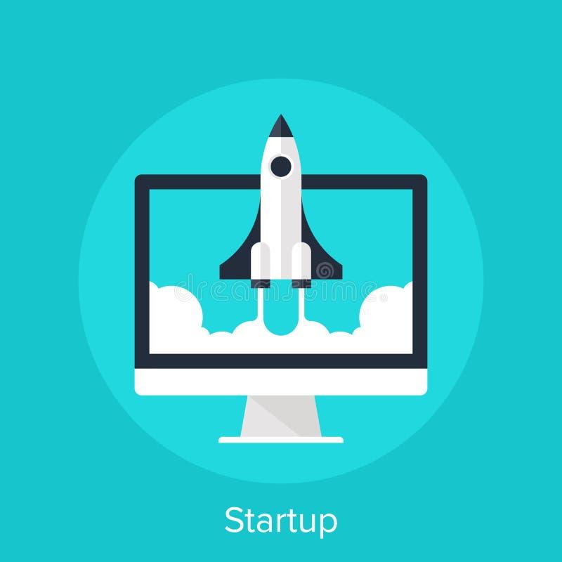 startup illustration de vecteur
