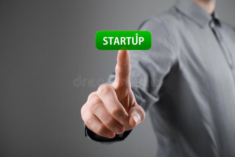 Startup affärsidé royaltyfria bilder